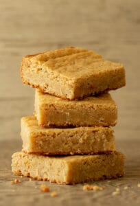 chai spiced white chocolate brownies